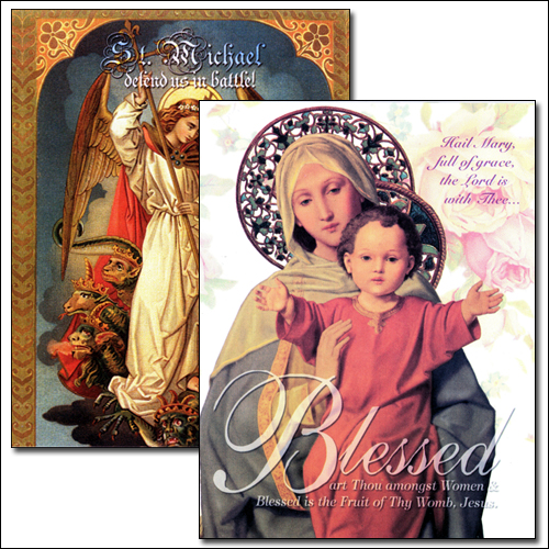 Catholic Saint Note Cards at the Saints Market Catholic Store